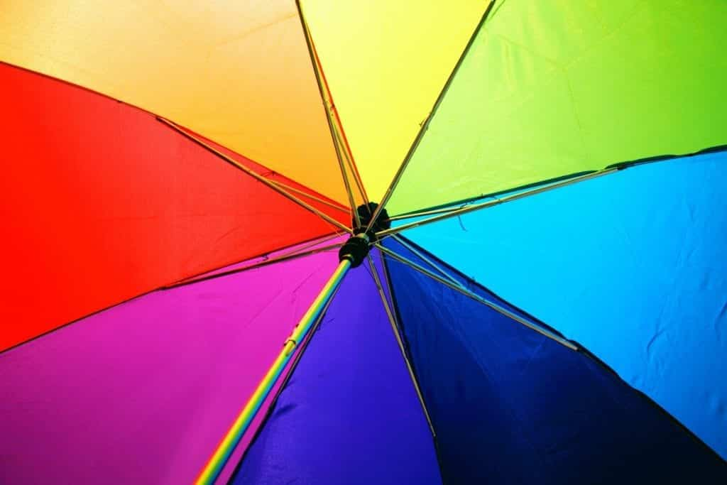 Colour Psychology and What It Says About Your Business umbrella