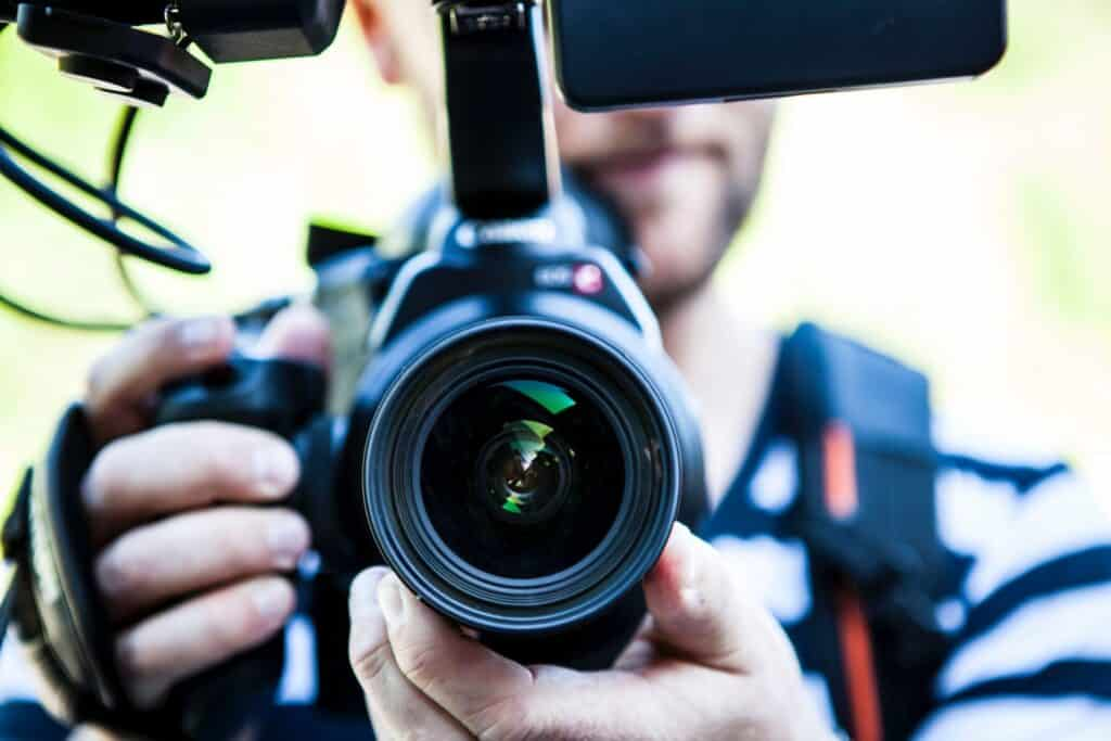 Can You Generate Business from YouTube? camera